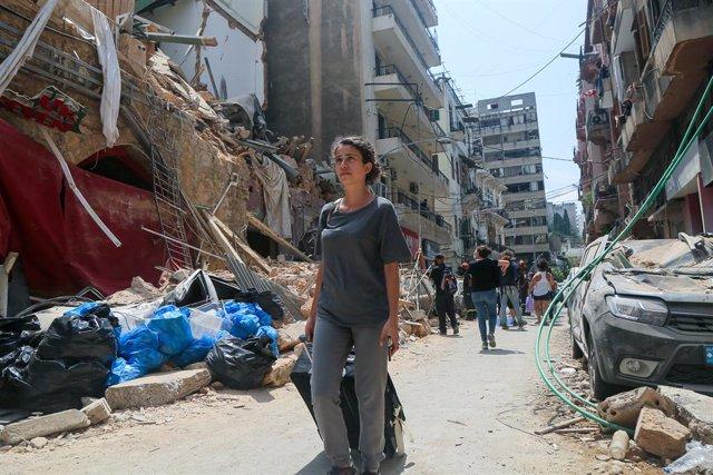 Líbano.- Aumentan a 154 los fallecidos por la gran explosión del puerto de Beiru