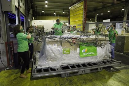 Llegan 40 equipos de respiración donados por Iberdrola para los centros hospitalarios andaluces