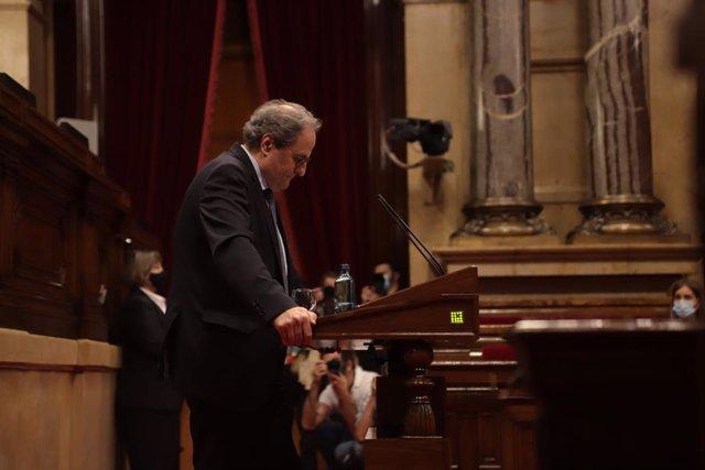 """AV.- Torra: en las elecciones se decidirá entre """"república catalana o monarquía"""