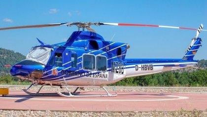Localizan en Córdoba en buen estado el helicóptero desaparecido de la BRIF de Cuenca