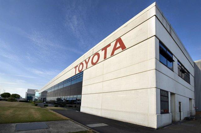 Imagen de una planta de Toyota.