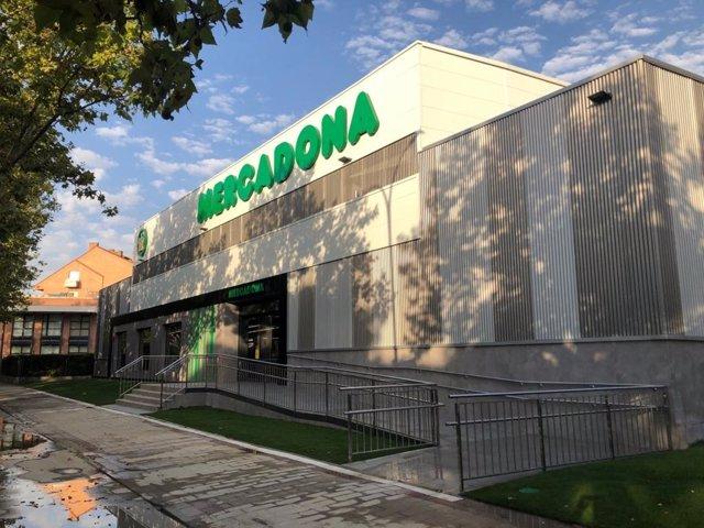 Remodelación de Mercadona de Covaresa.