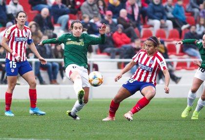 El Atlético femenino detecta un positivo y suspende su amistoso de este sábado en Lezama ante el Athletic