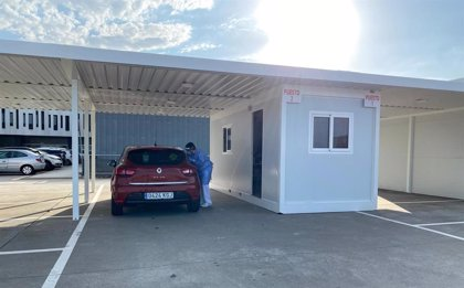 La Junta incorpora un punto de muestreo Autocovid en el centro de salud de La Dehesilla en Sanlúcar (Cádiz)