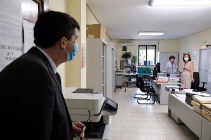La Junta destinará casi 350.000 euros para reactivar la Administración de Justicia en la provincia de Jaén
