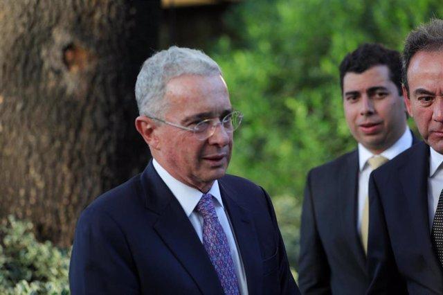 El ex presidente de Colombia Álvaro Uribe.