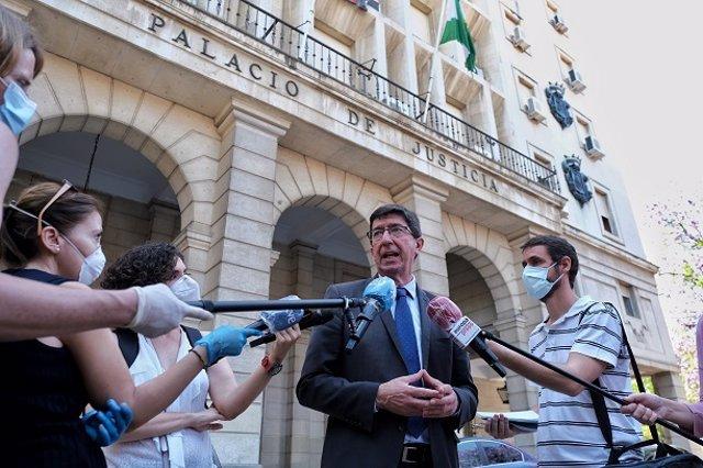 """Sevilla.-Junta invierte 1,6 millones para """"reactivar"""" la Justicia, con retribuciones extraordinarias a funcionarios"""