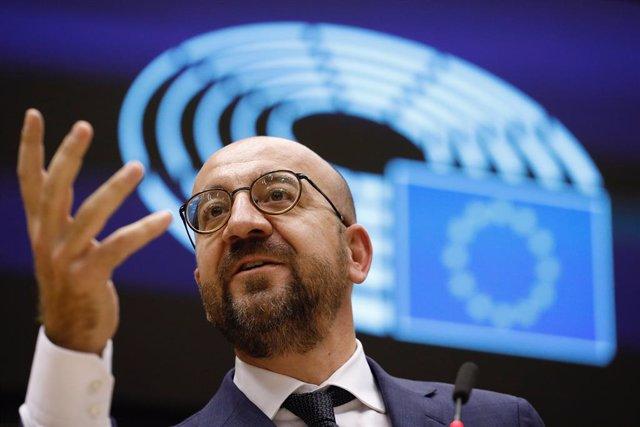 Líbano.- El presidente del Consejo Europeo visitará Líbano este sábado como mues