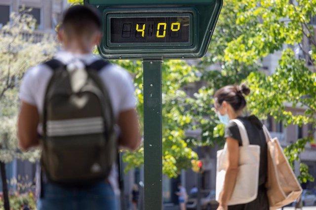 Zaragoza activa durante cuatro días el Plan Municipal de Protección Civil por olas de calor.