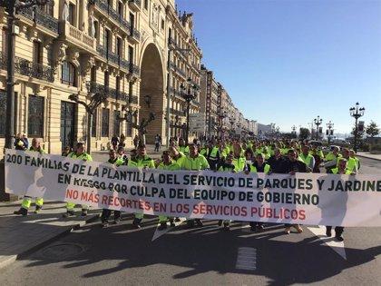 El Ayuntamiento de Santander volverá a licitar el polémico contrato de parques y jardines