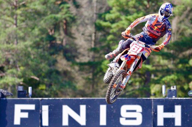 """Motocross.- Jorge Prado: """"Estoy bastante bien para hacer las mangas a muy buen r"""