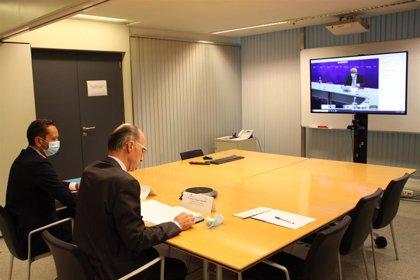 Galicia y Portugal intercambiarán información sobre la evolución de la pandemia de COVID-19