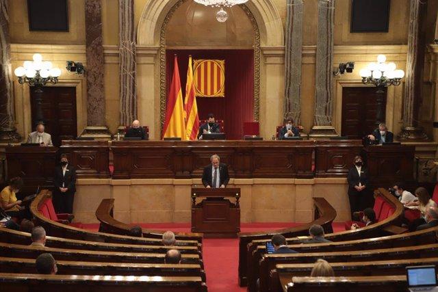 JxCat pide al Parlament la retirada del título de Rey a Juan Carlos I