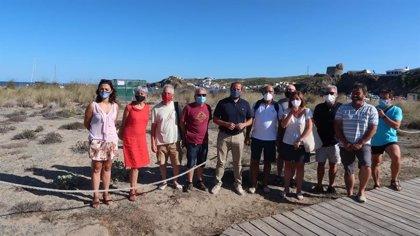 """Medio Ambiente pide """"prudencia"""" a quienes se acercan al nido de la tortuga marina custodiada en Menorca"""