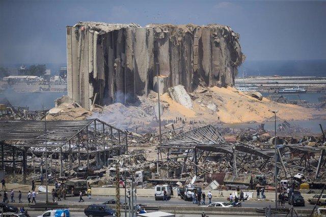 Líbano.- EEUU envía tres aviones con ayuda y personal sanitario para apoyar la r