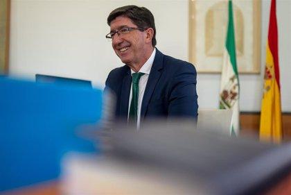 """Marín: PP-A y Cs tendrán que """"recomponer"""" sus objetivos de legislatura por Covid y no toca hablar de bajar impuestos"""