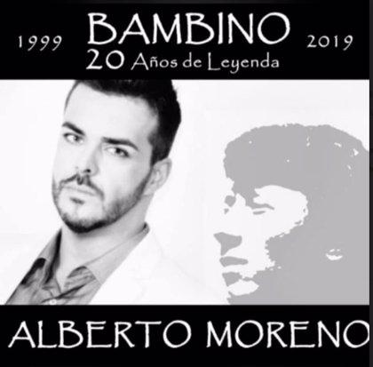 Alberto Moreno lleva la música de Bambino este domingo a Oliva de Plasencia