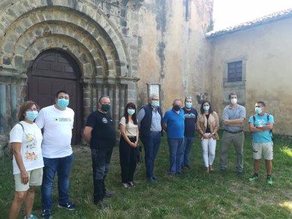 Ciudadanos reclama la recuperación del monasterio de Obona con un albergue de peregrinos