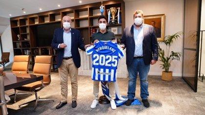 Merquelanz renueva con la Real Sociedad hasta 2025