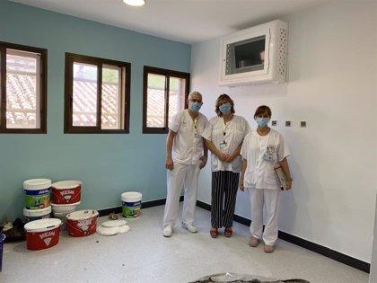 La Unidad de Hospitalización de Salud Mental del Regional de Málaga incorporará una sala de confort