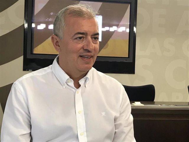 Javier Campoy, diputado autonómico del PP