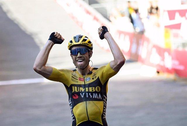 El ciclista belga Wout Van Aert