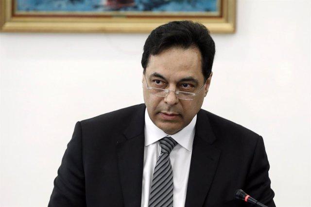 El primer ministre del Líban, Hasán Diab
