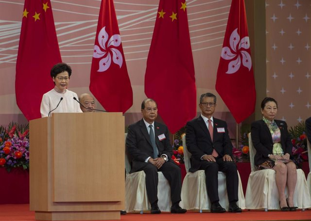 China.- El Gobierno chino recomienda una prórroga del mandato legislativo en Hon