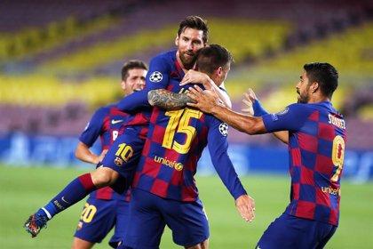 Crónica del FC Barcelona - Nápoles, 3-1