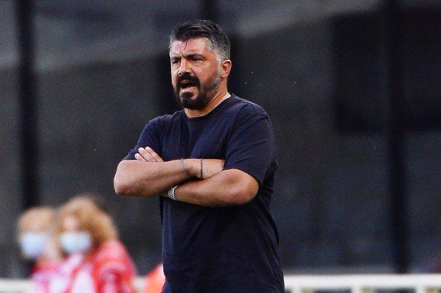 """Fútbol/Champions.- Gattuso: """"Lo que veo en los equipos de Setién es lo que tengo"""