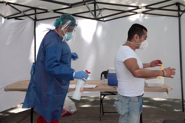 Coronavirus.- México roza el medio millón de casos acumulados y supera los 52.00