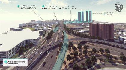 Madrid inicia la expropiación de terrenos en los que se asentará la remodelación del Nudo Norte