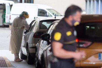 Los casos activos suben en Galicia en 58 y rozan los 600, más de la mitad en el área de A Coruña