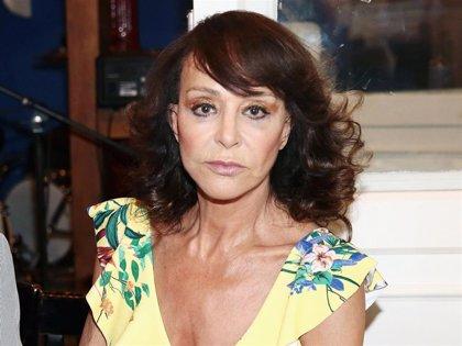 Mari Ángeles Grajal, discreta sobre el estado de salud de Jaime Ostos