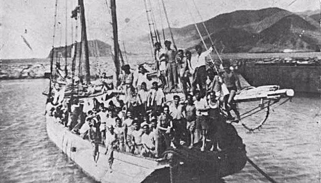 El Parlamento de Canarias conmemora el 70 aniversario de la partida del Telémaco