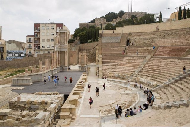 Imagen de archivo del Teatro Romano de Cartagena