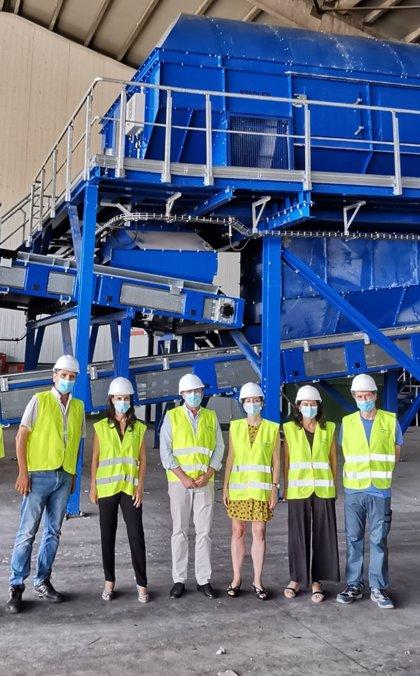 Diputación de Granada instalará en la Planta de Alhendín un sistema de reciclaje de muebles y enseres de gran tamaño