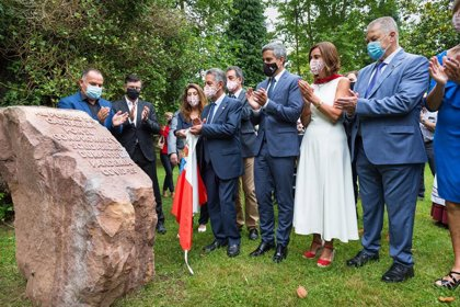 Homenaje al pueblo cántabro por su solidaridad durante la pandemia en el Día de Cantabria