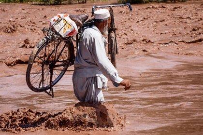Al menos trece muertos por las inundaciones provocadas por el monzón en Pakistán