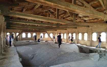 Finaliza la tercera edición de la Escuela Taller de la Ribera Alta del Ebro, tras 2.700 horas de formación