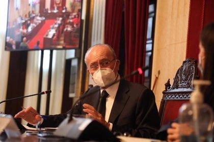 """Alcalde valora números sanitarios de la ciudad de Málaga e insiste en que """"debemos y podemos llegar al contagio cero"""""""