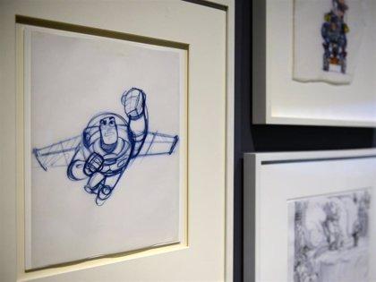 Estos son los bocetos originales de Buzz Lightyear (Toy Story), nunca vistos