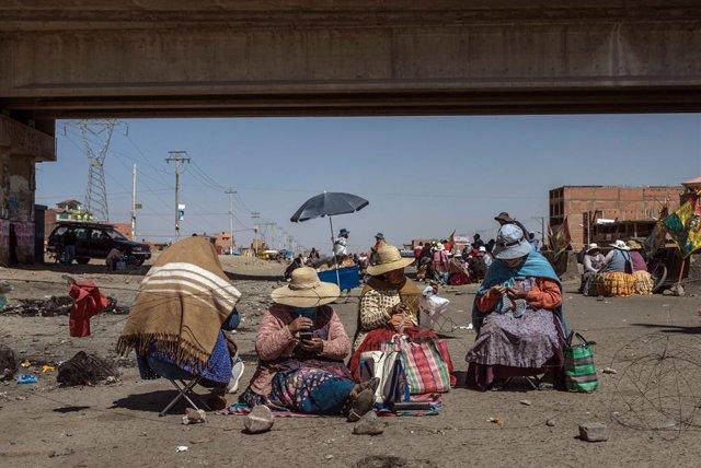 Bolivia.- Sindicatos locales bolivianos denuncian presiones de la central para r