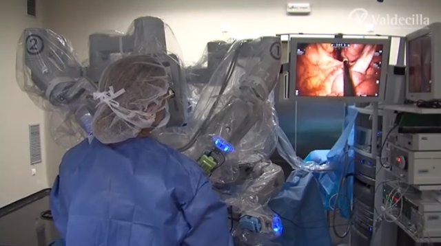 robot quirúrgico 'DaVinci'