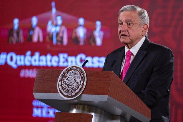 """México.- López Obrador defiende su gestión y destaca la """"responsabilidad"""" del Go"""