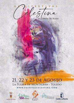 Cartel del festival de la Celestina 2020
