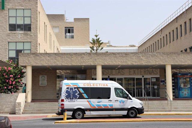 Hospital Juan Ramón Jiménez.