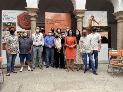 La tragedia 'Cayo César' fusionará en el Festival de Mérida teatro, danza y música en directo
