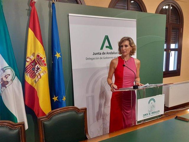 La delegada territorial de Educación, Igualdad, Políticas Sociales y Conciliación de la Junta en Córdoba, Inmaculada Troncoso.