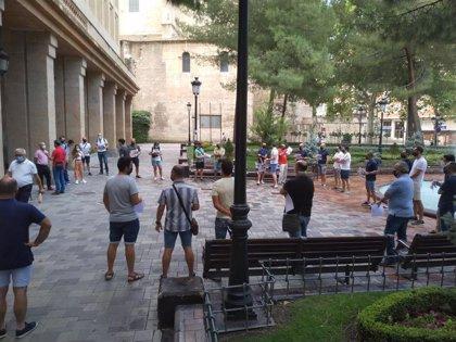 """Agentes de la Policía Local de Albacete protestan por la """"imposición"""" de servicios extraordinarios"""